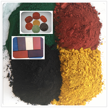 iron oxide yellow color pigment for acid stain concrete