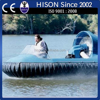 China leading PWC brand Hison hovercraft boat inflatable