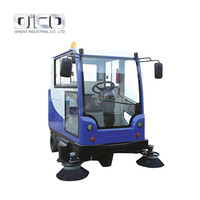 Electric Rechargeable Sweeper Machine Outdoor Sweeping Machine Ride On Rechargeable Sweeper Machine