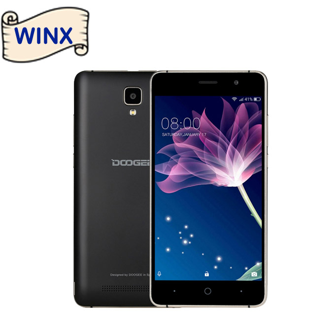 Original Doogee X10 Smartphone 5.0'' Android 6.0 MTK6570 Dual Core RAM 512M ROM 8GB Cellphone on Winx