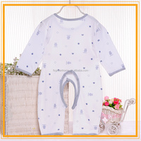 100% cotton 1 year old baby clothes baby rompers
