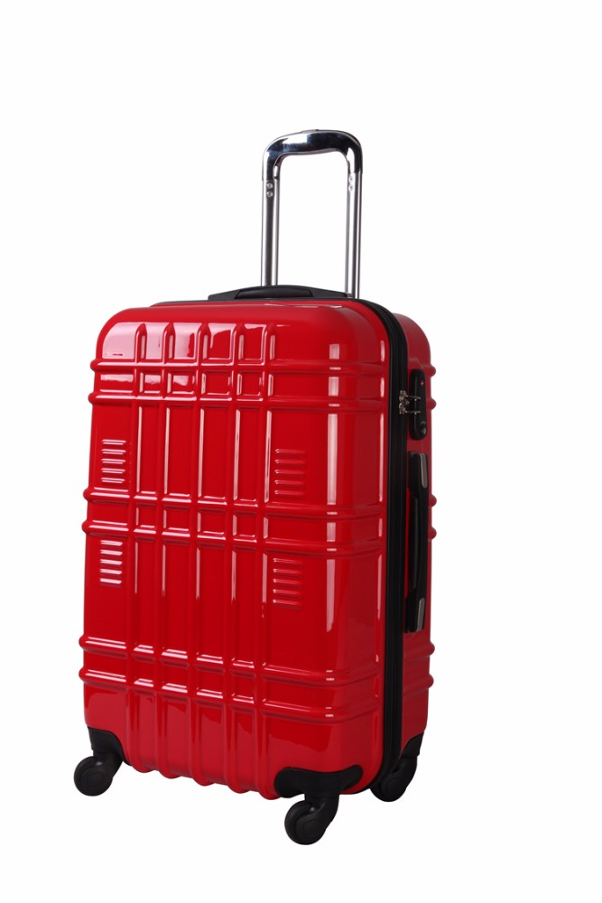 hot sell pc trolley luggage fashion suitcase polo trolley travel bag