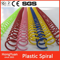 Office & School Supplies loose leaf plastic binding spiral coil for notebook