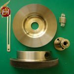 Customized CNC machining galvanized brass parts with high quality