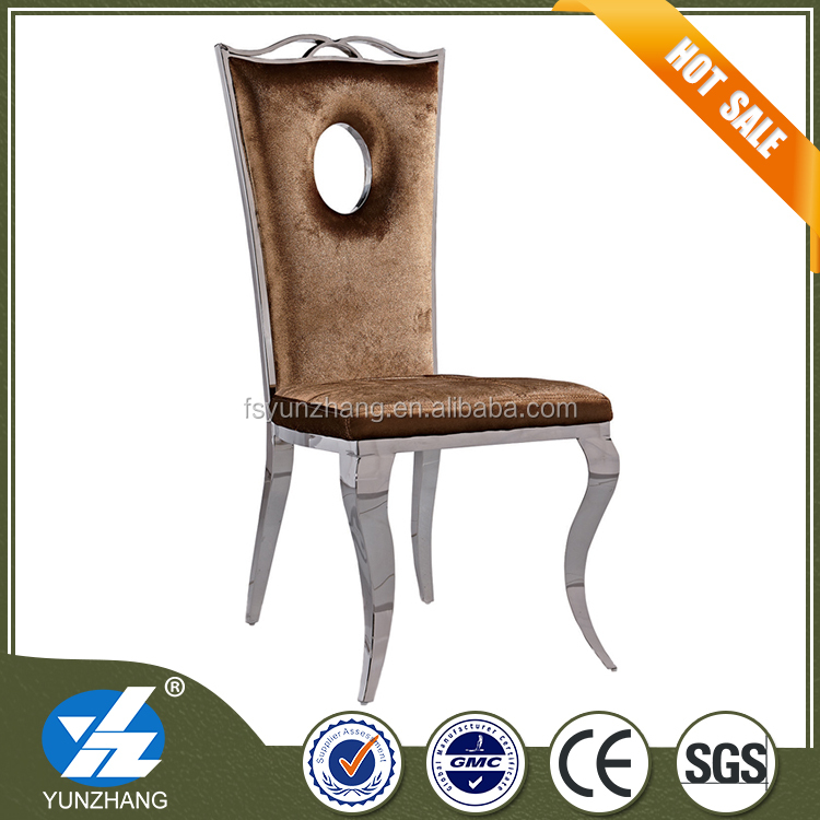 brown velvet fancy high level dining wedding <strong>chair</strong>
