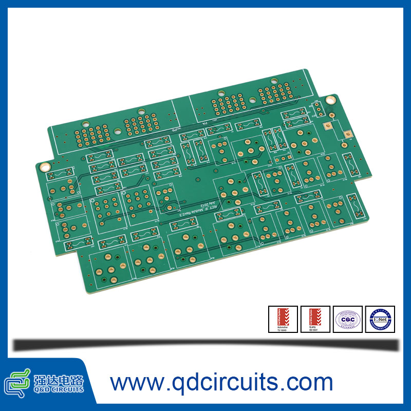 6-Layer 10oz Copper Thickness Green pcb raw materials wholesale