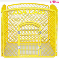 4 panels plastic dog pens house with door cage price 30 to 50usd