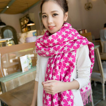 New product 2017 summer trends Five-pointed scarf to travel for promotion