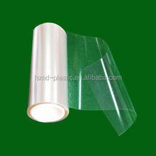 Clear transparent PET plastic sheet roll for wine box or chocolate package