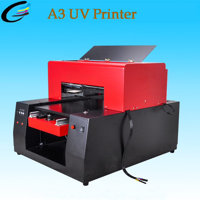 Brand New A3 UV Printer A3 Digital Flatbed UV Printer for Phone Case/Pen/Metal