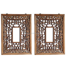 30 years luxury solid wood teak or america cherry screen window for restaurant made in china