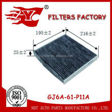 carbon active air filter used for mazda 6 OEM NO.GJ6A-61-P11A