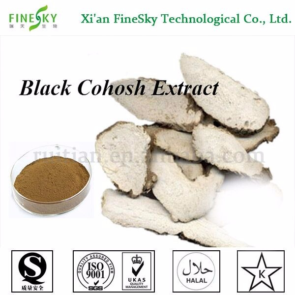 Best quality black cohosh extract, Black Cohosh Root Extract powder