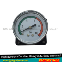 Plastic cheap air pressure gauge