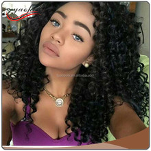 2017 Alibaba best selling water wave full lace human hair wigs