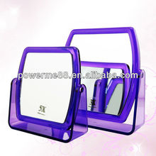 double sided table mirror