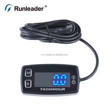 Led digital waterproof hour meter for motorcycle marine outboard motor equipment
