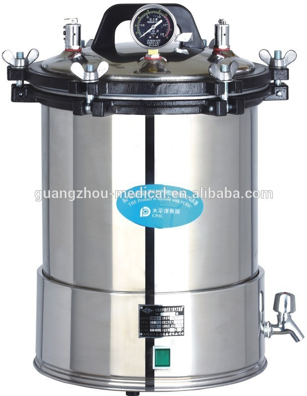 medium sterilizer 24l, 24 litre autoclave, sterilizer 24l