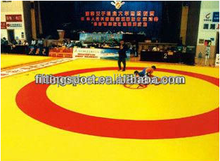 2016 china hot sale gym equipment indoor cheap wrestling mats