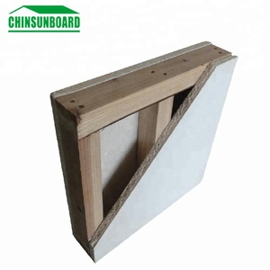 100% Non Chloride Fireproof Magnesium Sulfate MGO Board For Wall Partition