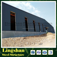 china Qingdao prefabricated steel structure warehouse