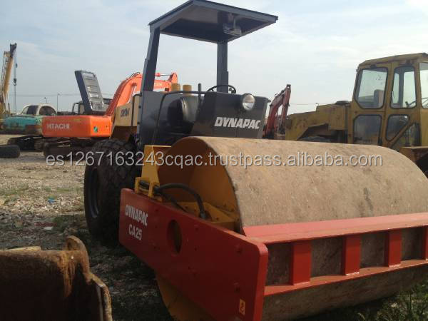 Used Dynapac Road Roller CA25D, Vibratory Compactor Dynapac Used Road Roller CA25D,Dynapac Used Road Roller CA25D