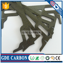Carbon fiber CNC cutting Business card for high-grade