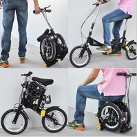 14inch electric folding bike_ folding e-bike _ the king of foldable bicycle
