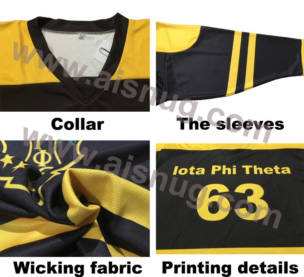 wholesale wicking hockey jersey youth school blank hockey jersey embroidery logo ball hockey practice jerseys