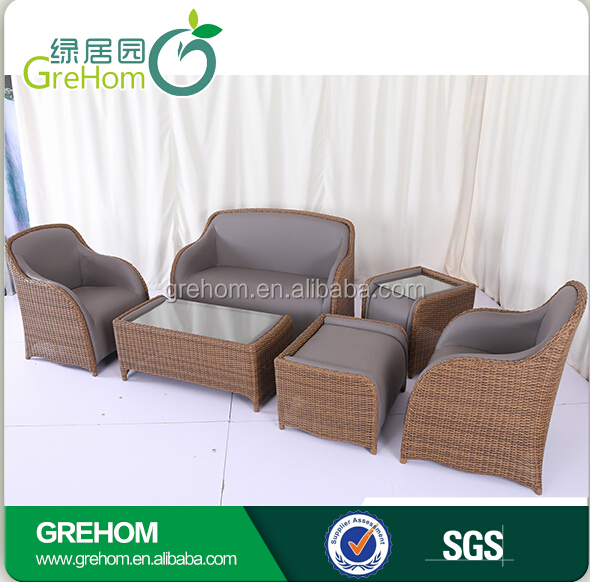 Garden Rattan Sofa Patio Set Leather Hd Designs Outdoor Furniture