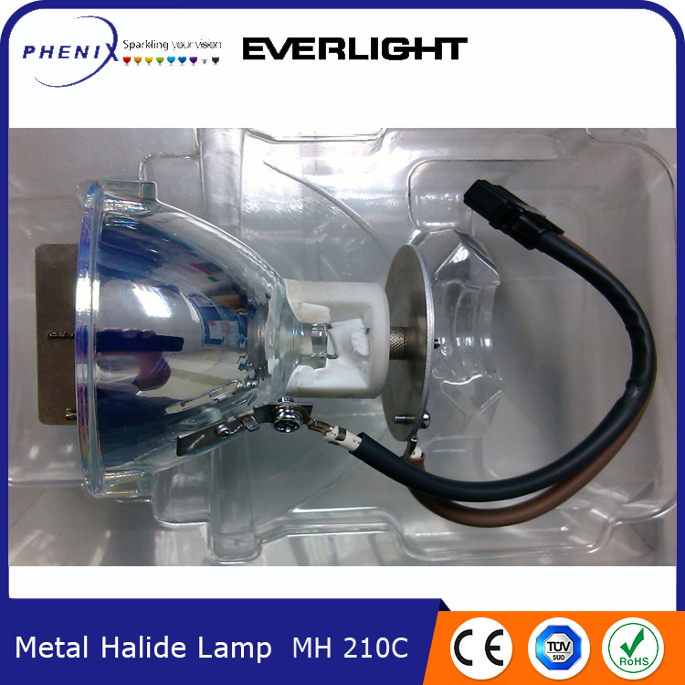 2017 New products Longer lifetime 210W Metal Halide Lamp