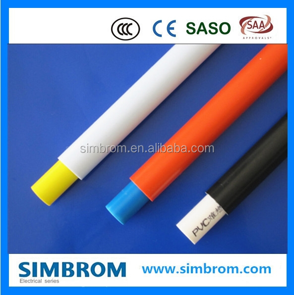 Newly Reliable Quality coated electrical wire conduit 6 Inch Pvc Pipe