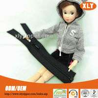 wholesale fancy 5# nylon invisible slider for doll clothes