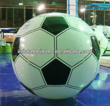 Giant inflatable plastic football