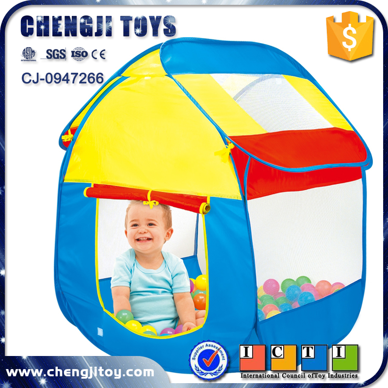 Cheap wholesale small 100pcs plastic ball pit balls kids party tent