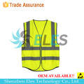mesh fabric reflection safety vest