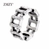 ZMZY Brand Unisex Fashion Stainless Steell
