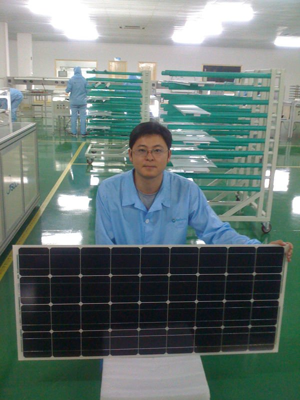 Electric car for Mono 95W solar module with 18V Working Voltage,CE Certificated