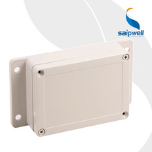 115*85*35mm Wall Mounting Electric Plastic Box with Ears Remote Control Plastic Enclosure