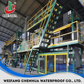 China automatic small capacity rubber sheet making machine manufacturer