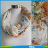 infinity polyester scarf ladies spring scarves