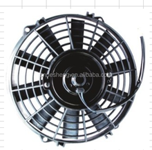 "9"" PULL/PUSH 12V SILM ELECTRIC RADIATOR MOTOR COOLING FAN PAIR"