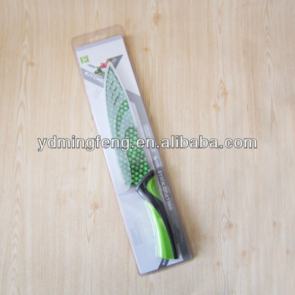 Professional stainless steel Animal slaughter knife with coating