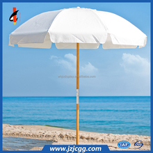 Waterproof outdoor custom printing sunshade beach umbrella