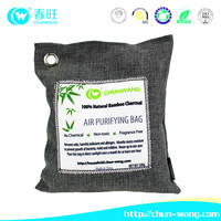 All Natural bamboo charcoal car Deodorizer and Air Purifying Pouch