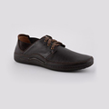 Wholesale lace-up leather casual shoe for men