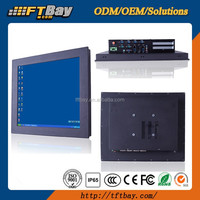 19 Inch industrial touch panel pc with Core i3,i5,i7 CPU,2 XPCI slots,6COM