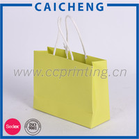 Cheap Custom Small Gift Paper Bag With Twisted Handle