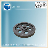 cast iron pulley wheel