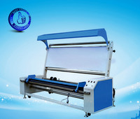 knitted fabric inspection and rolling machine